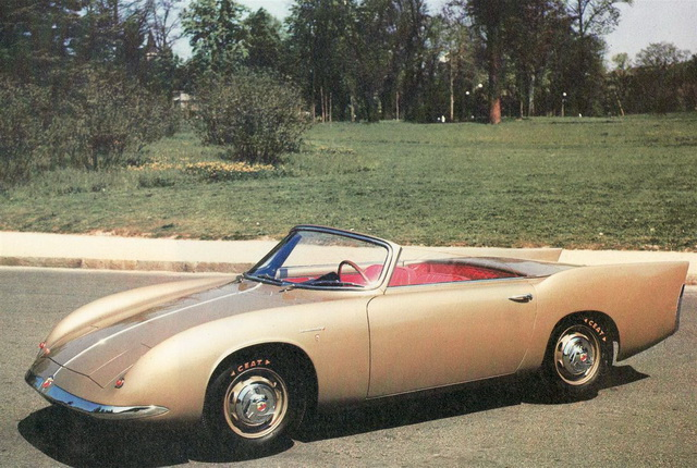Abarth 750 Type 215A Coupe Concept  (Bertone) (1956)