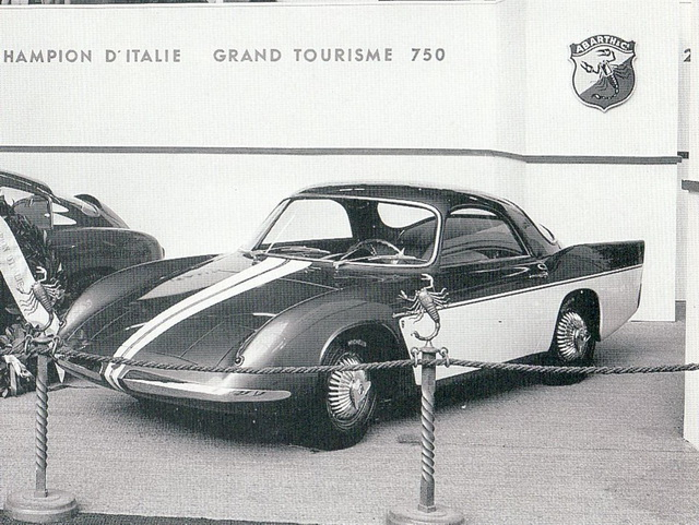 Abarth 750 Type 216A Spyder Concept (Bertone) (1956)