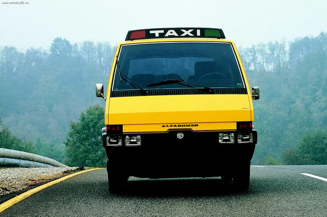 Alfa-Romeo New-York Taxi Concept (ItalDesign) (1976)