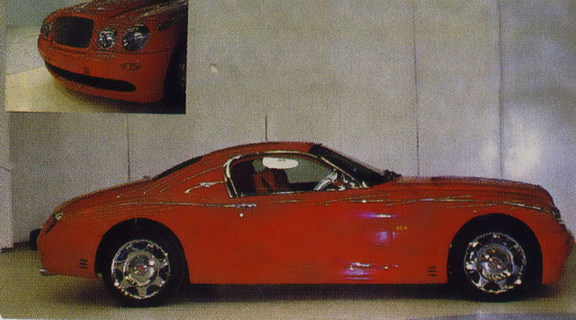 Bentley Buccaneer Concept (1998)