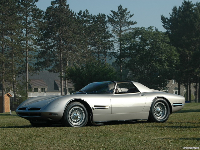 Bizzarrini 5300 SI Spyder Prototype (1966)