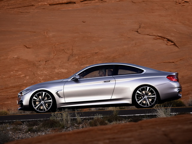 BMW 4 Series Coupe Concept (2012)