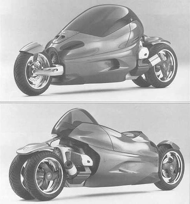 BMW C1 Cycle Concept (2000)