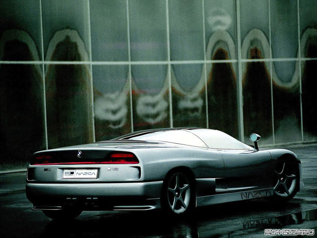 BMW Nazca M12 Concept (ItalDesign) (1991)