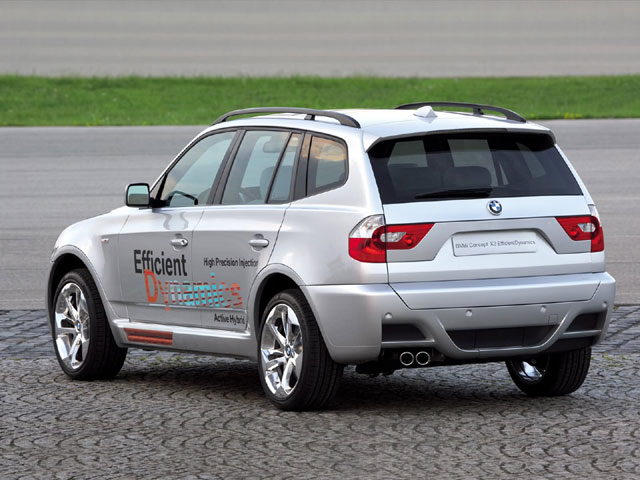 BMW X3 EfficientDynamics Concept (2005)