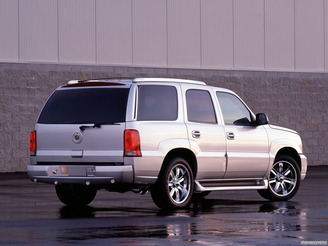 Cadillac Escalade Twin Turbo Concept (2001)
