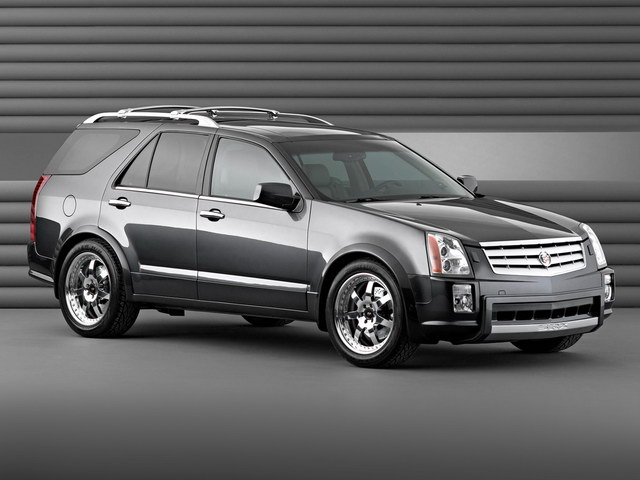 Cadillac SRX Black Diamond Concept (2004)