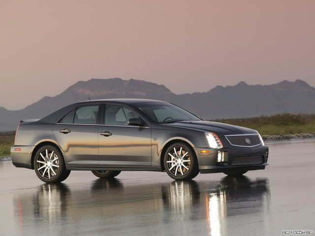 Cadillac STS SAE 100 Concept (2005)