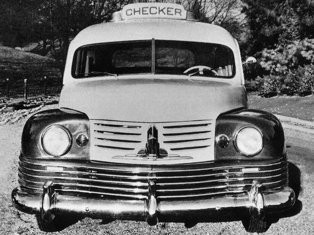Checker Model D Taxi Cab Prototype (1946)