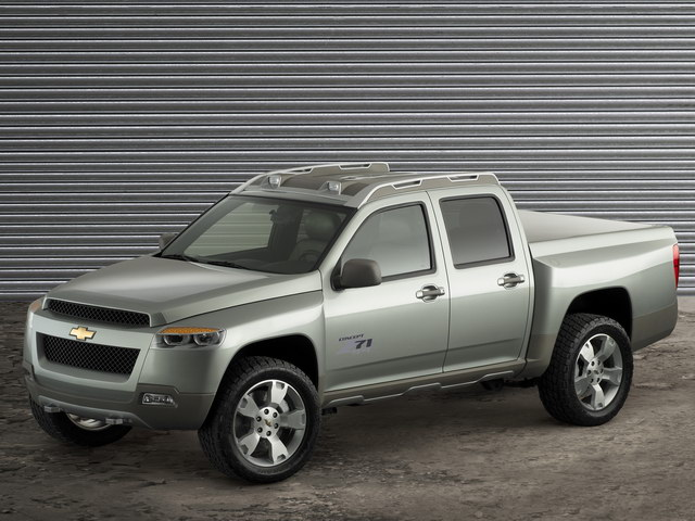 Chevrolet Colorado Crew Cab Z71 Plus Concept (2007)