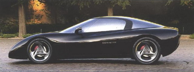 Chevrolet Corvette Black Car Concept (1991)
