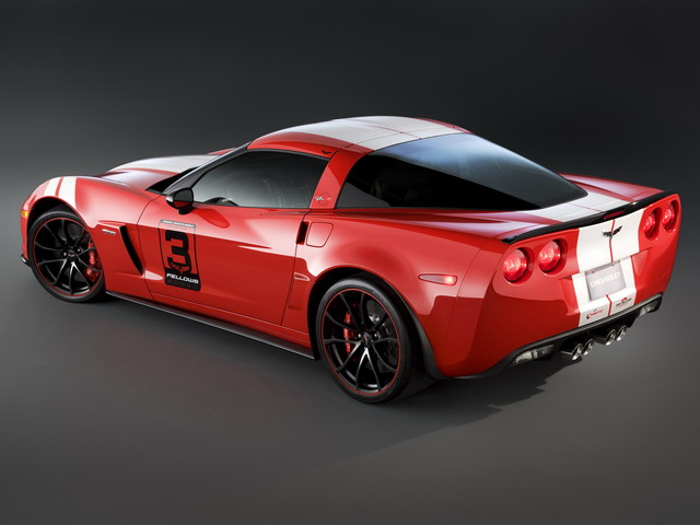 Chevrolet Corvette Z06 Ron Fellows Hall of Fame Tribute Concept (2011)