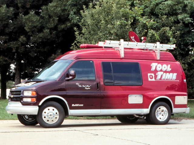 Chevrolet Express Tool Time Van Concept (1998)