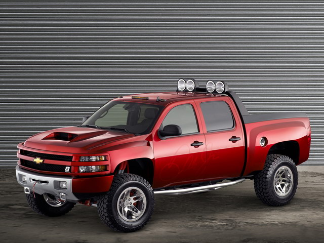 Chevrolet Silverado Dale Earnhardt Jr. Big Red Concept (2007)