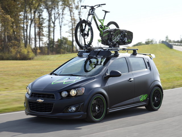 Chevrolet Sonic All Activity Vehicle Concept (2011)