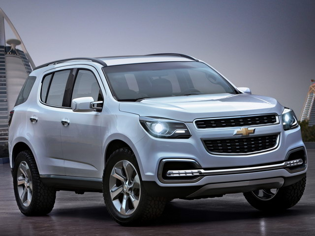 Chevrolet TrailBlazer Concept (2011)