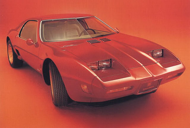 Chevrolet XP897GT Two-Rotor Concept (1973)
