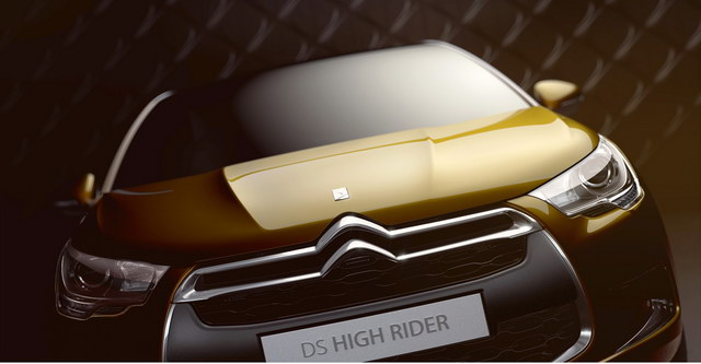 Citroen DS High Rider Concept (2010)