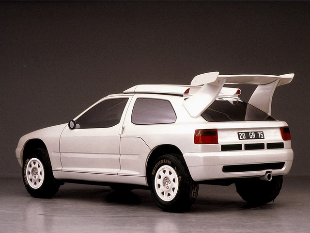 Citroen ZX Rally Raid Prototype (1990)