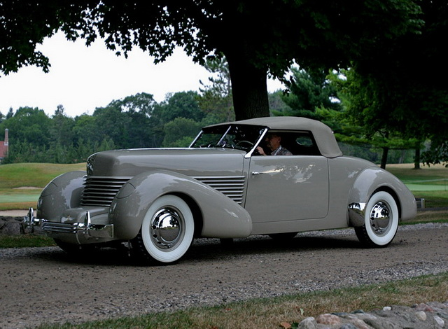 Cord 814 Custom Convertible Prototype (1938)
