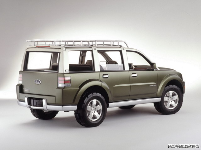 Ford Explorer Sportsman Concept (2001)