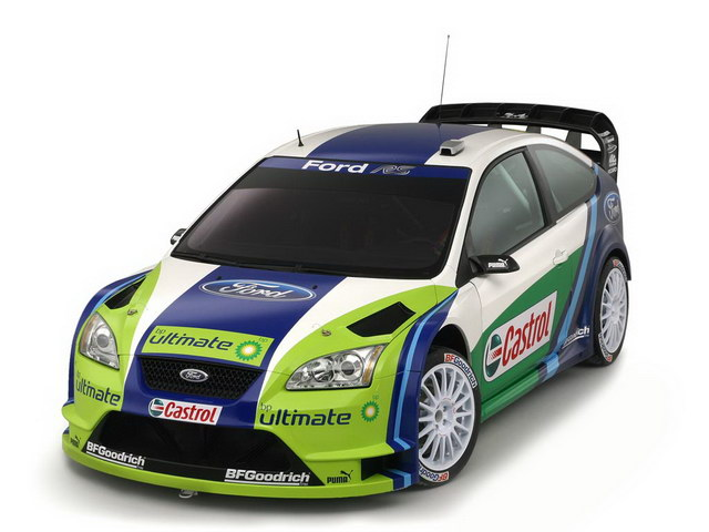 Ford Focus RS WRC Concept (2006)