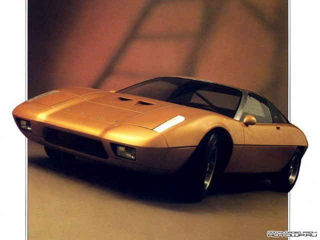 Ford GT70 Sports Prototype (Ghia) (1971)