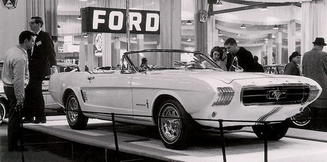 Ford Mustang II Concept (1963)