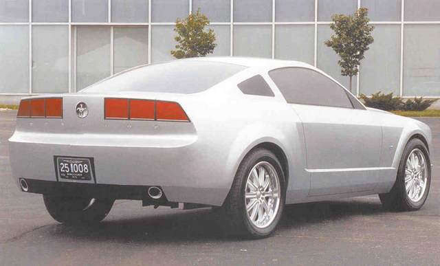 Ford Mustang Clay Prototype (2005)