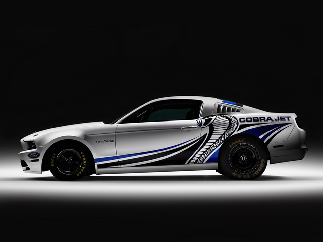 Ford Mustang Cobra Jet Twin-Turbo Concept (2012)