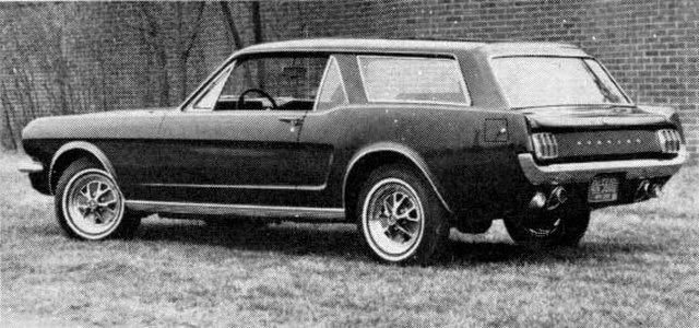 Ford Mustang Estate Wagon Concept (1965)