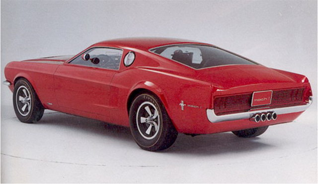 Ford Mustang Mach I Prototype (1968)
