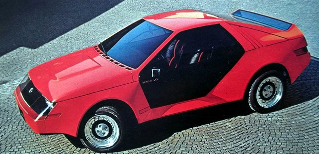 Ford Mustang RSX Concept (Ghia) (1980)