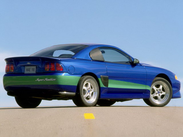Ford Mustang Super Stallion Concept (1998)
