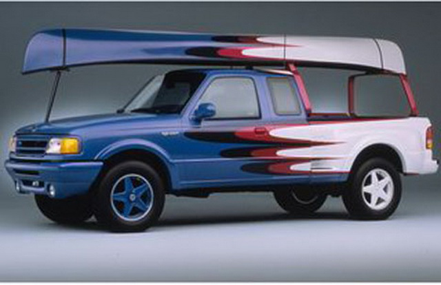 Ford Ranger Sea Splash Concept (2001)