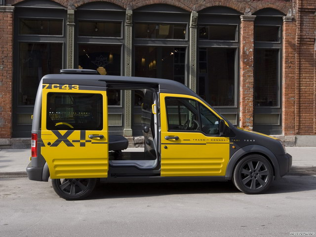 Ford Transit Connect Taxi Concept (2008)