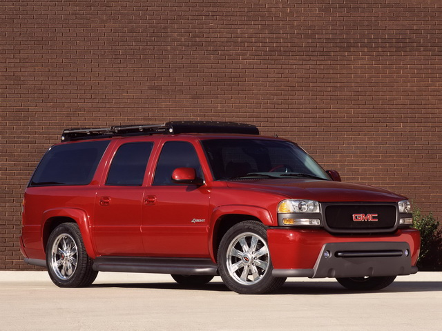 GMC Yukon 4Sight Concept (2001)