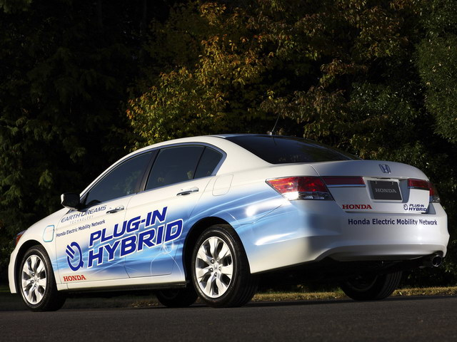 Honda Accord Sedan Plug-In Hybrid Prototype (2010)