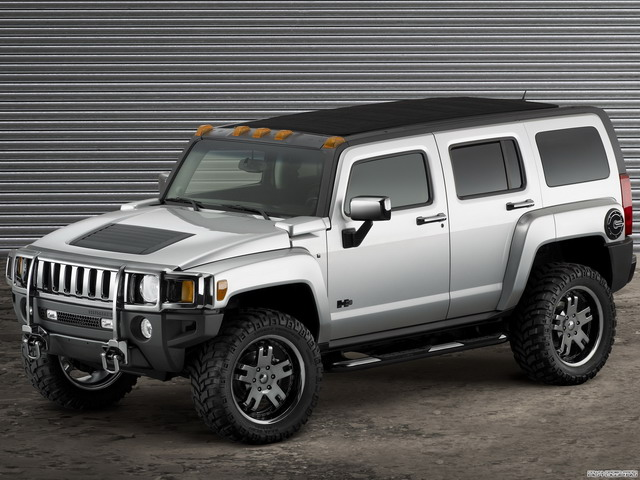 Hummer H3 Open Top Concept (2007)