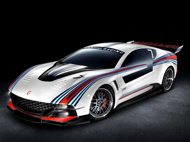 ItalDesign Brivido Martini Racing Concept (2012)