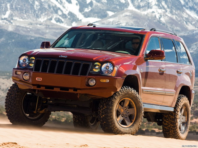 Jeep Grand Canyon Mopar Underground II Concept (2009)