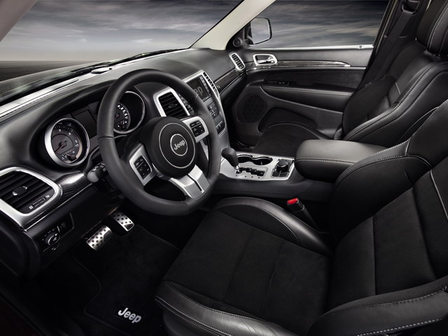 Jeep Grand Cherokee Production-Intent Sports Concept (2012)