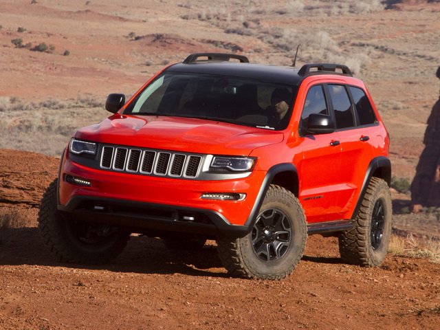 Jeep Grand Cherokee Trailhawk II Concept (2013)