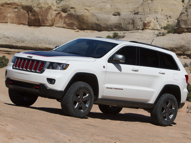 Jeep Grand Cherokee Trailhawk Concept (2012)