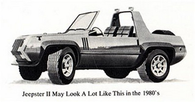 Jeep Jeepster II Concept (1979)
