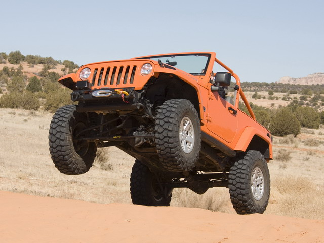 Jeep Wrangler Rubicon King Concept (2006)