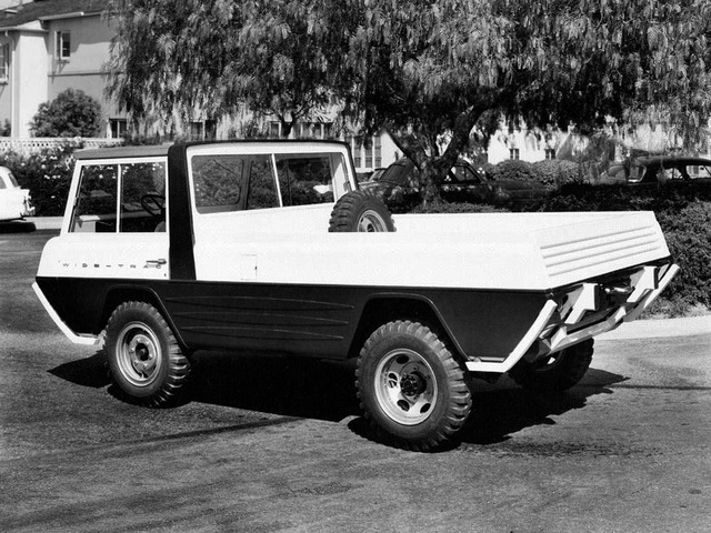 Kaiser-Willys Jeep Wide-Trac Concept (1960)