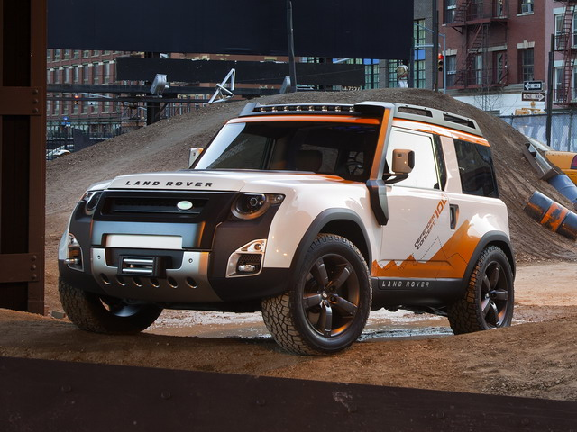 Land-Rover DC100 Expedition Concept (2012)