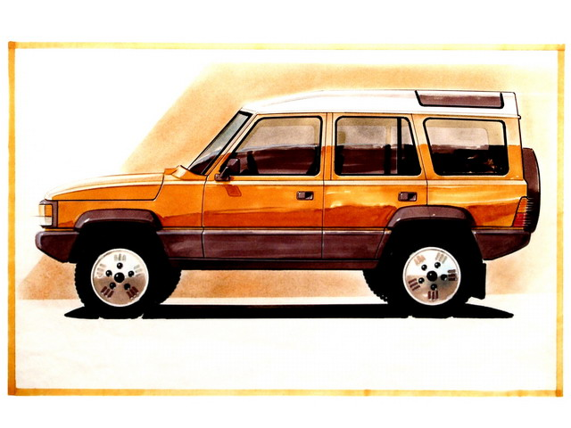 Land-Rover Discovery Prototype (1985)