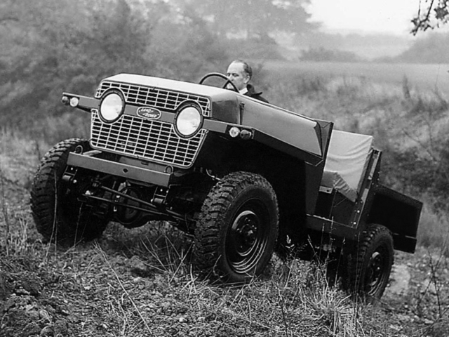 Land Rover Lightweight R-6796-2 Prototype (1965)